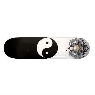 Ying-Yang 21.3 Cm Mini Skateboard Deck