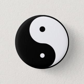 ying & Yang 3 Cm Round Badge