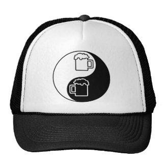 Ying Yang Beer Mug Trucker Hat