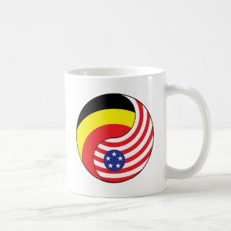 Ying Yang Belgium-Andoora America Coffee Mug