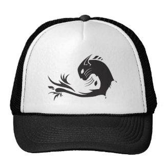 Ying Yang Cats Hats