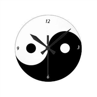 Ying Yang Clock