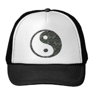 Ying Yang Damask Cap
