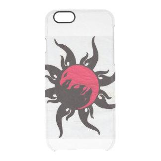 Ying Yang Dragon Art Clear iPhone 6/6S Case