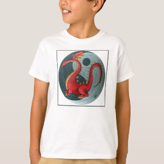 Ying-Yang Dragon Child's T-Shirt