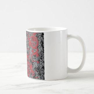 Ying Yang Dragon oin Red - Chinese New Year Coffee Mug