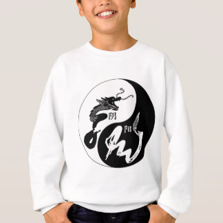 Ying Yang Dragon Sweatshirt