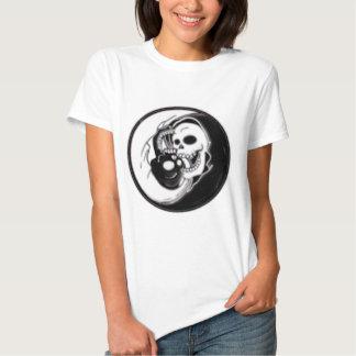 Ying Yang Grim Reaper T Shirt