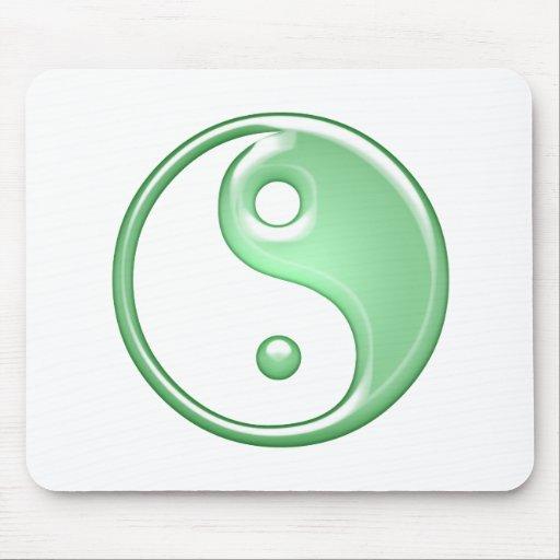 Ying Yang Mouse Pads