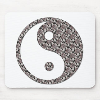 Ying Yang Mouse Pads