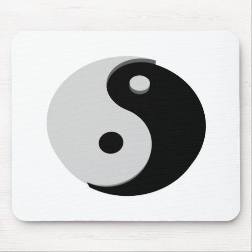 Ying Yang Mousepad