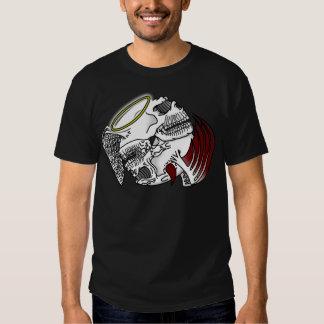 Ying Yang skulls T-shirt