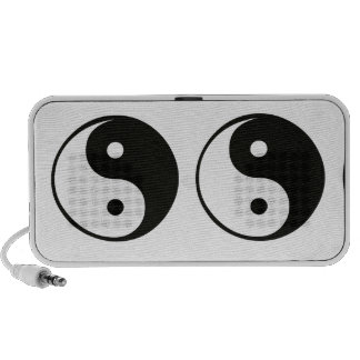 Ying yang,tao,chinese art of energy,feng shui, mp3 speakers