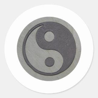 YingYang032809 Classic Round Sticker