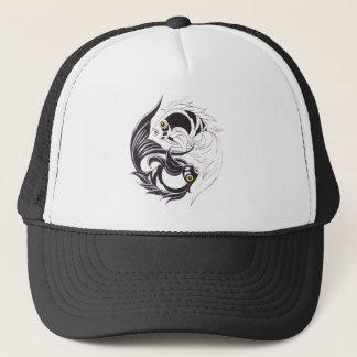 YingYang Koi Trucker Hat