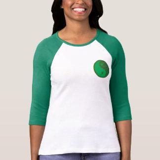 YinYang Bella+Canvas 3/4 Sleeve Raglan T- T-Shirt