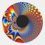 YinYang BigBang - Fractal Sticker
