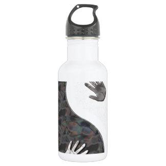 yinyang hands 532 ml water bottle