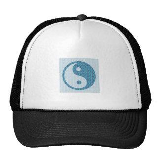 YinYang YIN YANG Balanced Mesh Hats