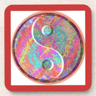 YinYang Yin Yang Chinese Healing Balance Energy Beverage Coaster