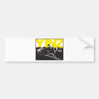 Yinz Pittsburgh Bumper Sticker