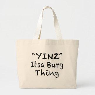 YINZ PITTSBURGH TOTE BAG