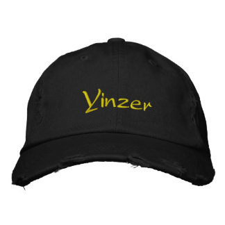 Yinzer Embroidered Baseball Caps