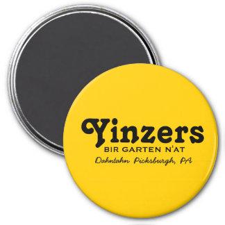 Yinzers Bir Garten N'at 7.5 Cm Round Magnet