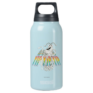 Yip Yips B&W Sketch Drawing Insulated Water Bottle