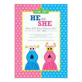 Yip-Yips Gender Reveal Card