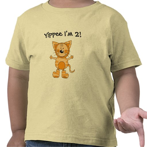 Yippee I'm 2! T Shirt