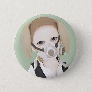 YIP's mask 6 Cm Round Badge