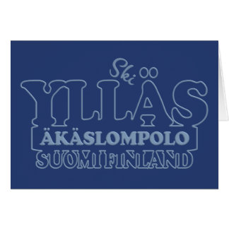 YLLÄS FINLAND greeting card