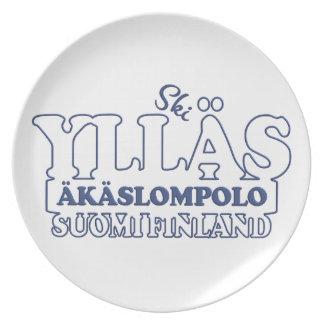 YLLÄS FINLAND plate