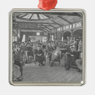 YMCA Hostel, Piccadilly, Manchester, c.1910 Christmas Ornament