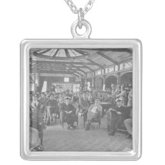 YMCA Hostel, Piccadilly, Manchester, c.1910 Silver Plated Necklace