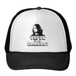 Yngve is my Homeboy baseball hat.