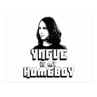 Yngve is my Homeboy! Postcard