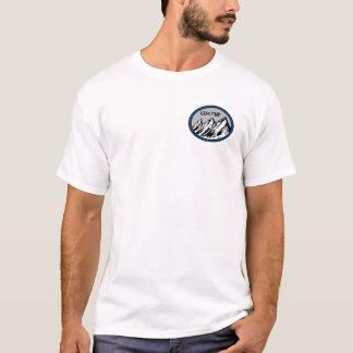 YNP front, Bison back T-Shirt