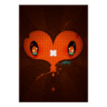 """Yo Amo La Leche """"Heart"""" Poster"""