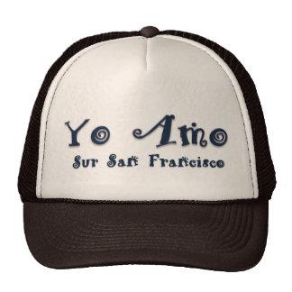 Yo Amo Sur San Francisco Mesh Hats