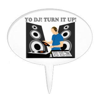 Yo DJ, Turn It Up Cake Picks