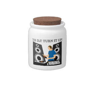 Yo DJ, Turn It Up Candy Jar