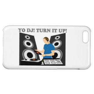 Yo DJ, Turn It Up Case For iPhone 5C