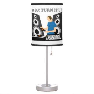 Yo DJ, Turn It Up Desk Lamp