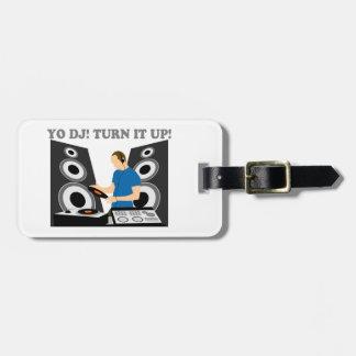 Yo DJ, Turn It Up Luggage Tag