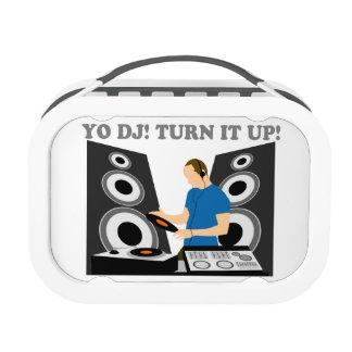 Yo DJ, Turn It Up Lunch Boxes