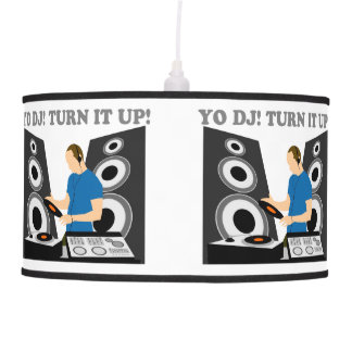 Yo DJ, Turn It Up Pendant Lamp