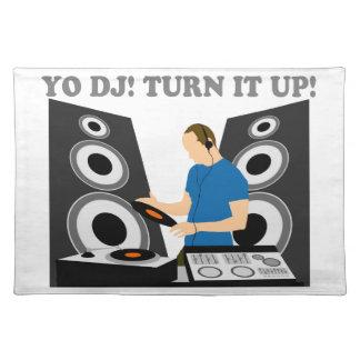 Yo DJ, Turn It Up Place Mats