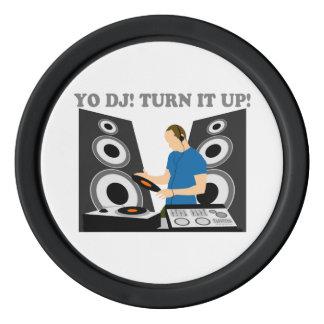 Yo DJ, Turn It Up Poker Chips